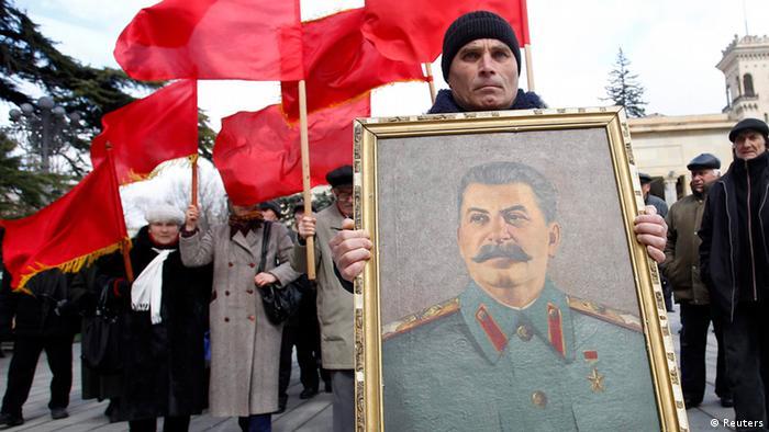 Stalin Todestag 60 Jahre Ehrung in Gori