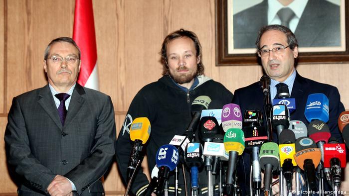 Deutschland Billy Six Journalist Syrien Befreiung