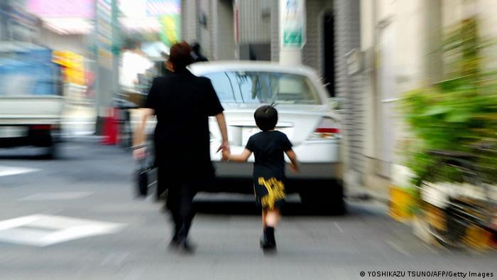 Japan Mutter mit Kind