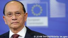 Myanmars Präsident Thein Sein zu Besuch in Brüssel