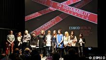 Der Jahrgang 2012 von ESMOD, International University of Art for Fashion, Berlin Photo copyright: ESMOD