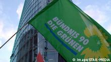 Logo Bündnis 90 Die Grünen Flagge