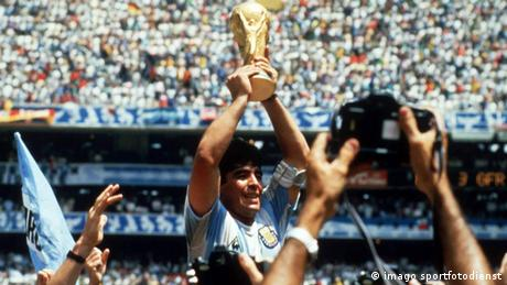 Fußball Duelle Deutschland Argentinien Diego Maradona