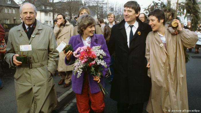 30 Jahre Die Grünen Einzug in den Bundestag 1983 (picture-alliance/dpa)
