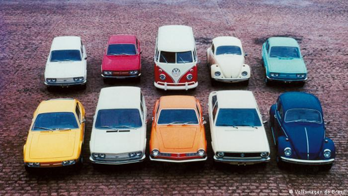 Klassische Modelle von VW do Brasil