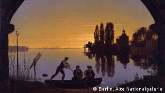 Frankfurt Städelmuseum Ausstellung Schönheit und Revolution AUSSCHNITT Schinkel
