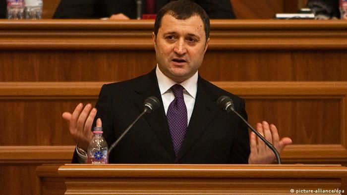 Moldawien Vlad Filat Regierung Misstrauensvotum ARCHIVBILD (picture-alliance/dpa)