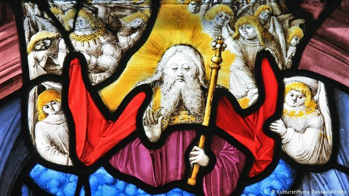 Бог Отец в окружении ангелов