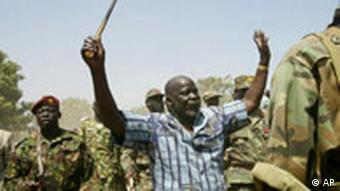 John Garang, former leader of the Sudan People's Liberation Army