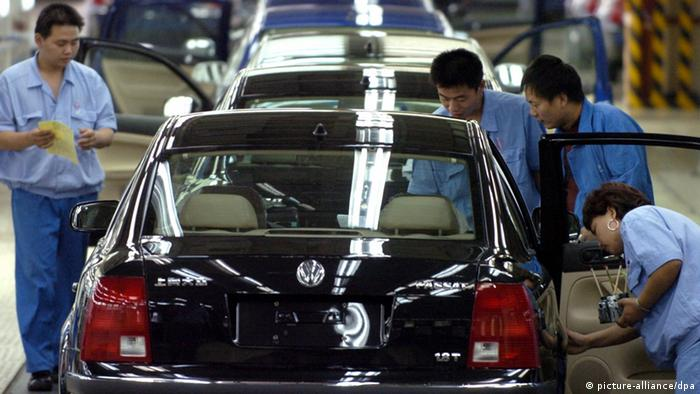 VW facility in China (picture-alliance/dpa)
