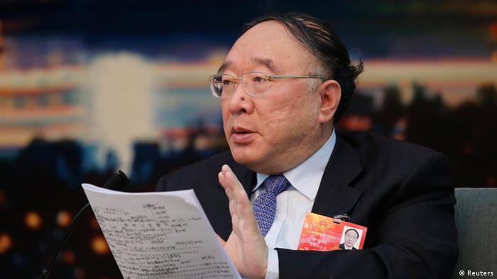 China Huang Qifan Bürgermeister von Chongqing (Reuters)