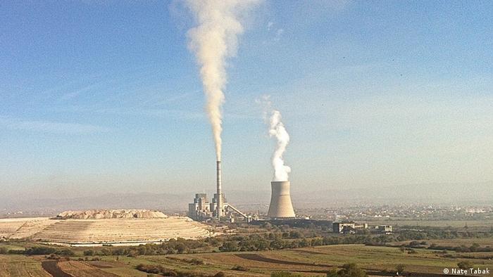 Kosovo power plant (photo: Nate Tabak)