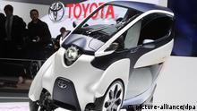 Toyota i-Road (Genfer Autosalon)