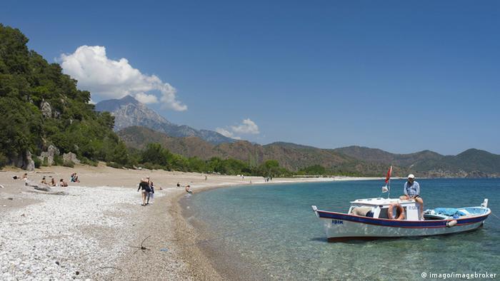 Türkei Antalya Strand Konyaalti Urlaub Meer Mittelmeer