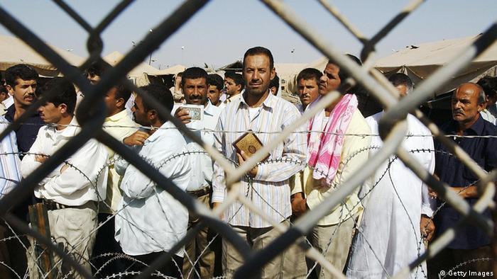 Затворници в Абу Гариб