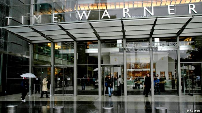 Time Warner headquarters in New York.