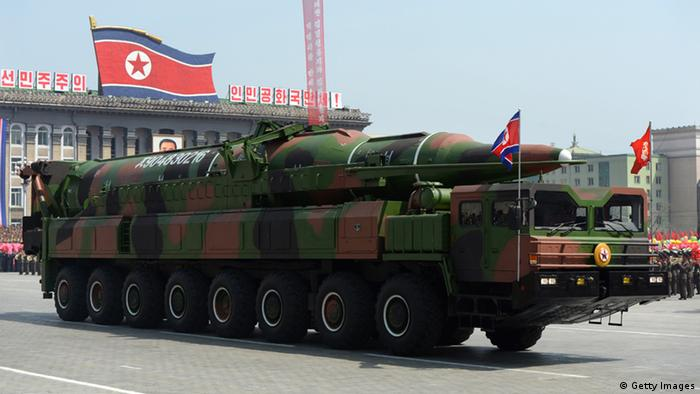 Nordkorea - Rakete (Getty Images)