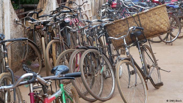 Fahrräder in Mosambik