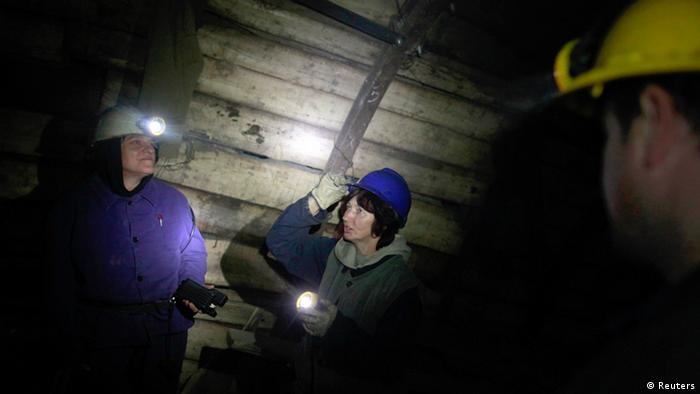 Bosnien und Herzegowina Frauen Bergarbeiterinnen (Reuters)