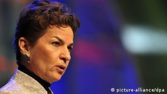 Christiana Figueres, secretária-executiva da UNFCCC