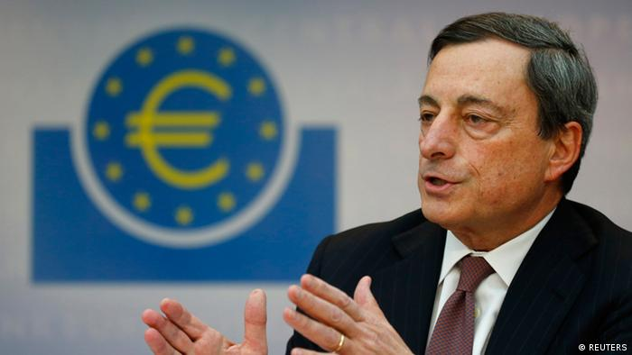 Mario Draghi, President of the European Central Bank (ECB) (Foto: rtr)