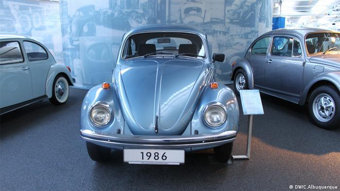 Der letzte in Brasilien hergestellt Käfer