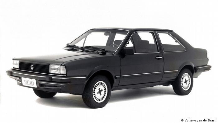 Ein VW Santana von 1984