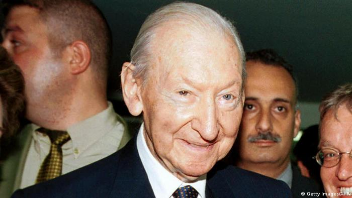 Kurt Waldheim, former Austrian president from 1986 to 1992