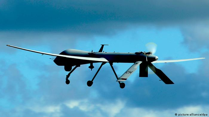 US Predator drone flying. Foto: U.S. Air Force photo by Tech. Sgt. James Harper/Released