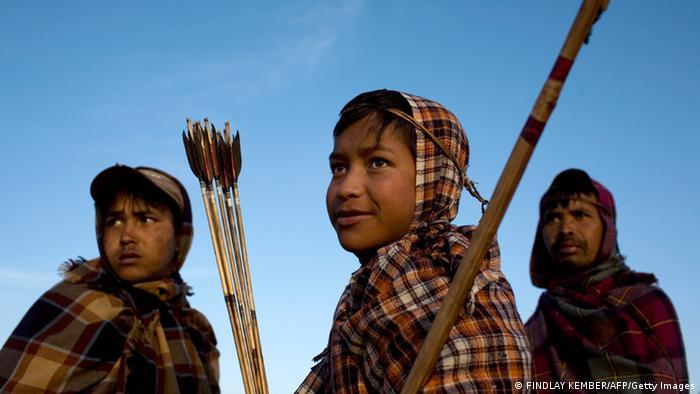 Khasi Ureinwohner aus Meghalaya Indien (FINDLAY KEMBER/AFP/Getty Images)