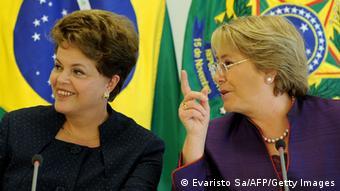 Dilma Rousseff und Michelle Bachelet