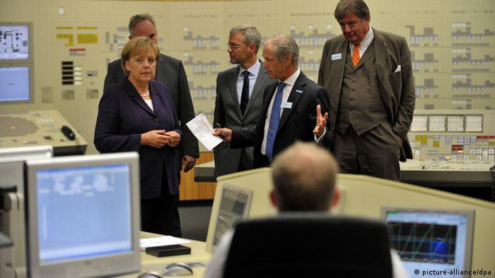 Merkel setzt Energie-Reise in Lingen fort