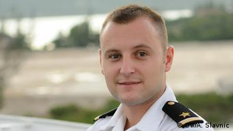 Nenad Momić u brodskoj uniformi<br />