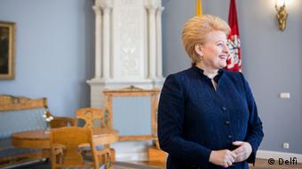 Litauische Präsidentin Dalia Grybauskaite im DW-Interview
