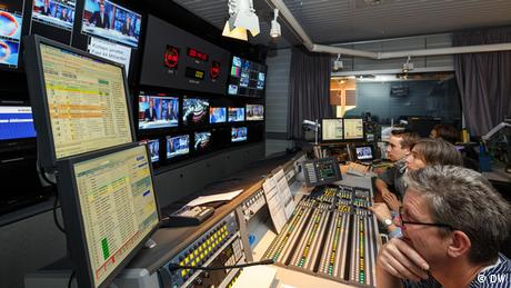 Regie DW-TV Journal Voltastraße Berlin - 60 Jahre DW