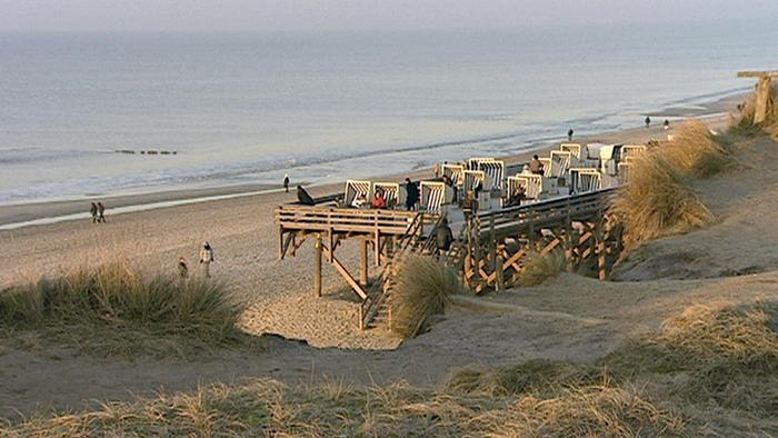Enjoying Early Spring On The Island Of Sylt In The North Sea Dw