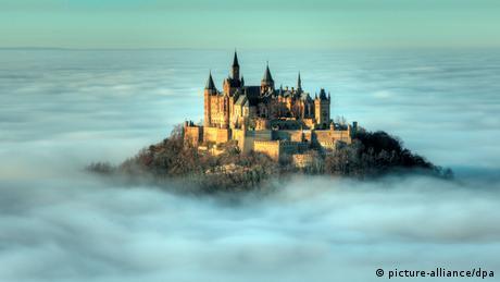 Nebel an der Burg Hohenzollern