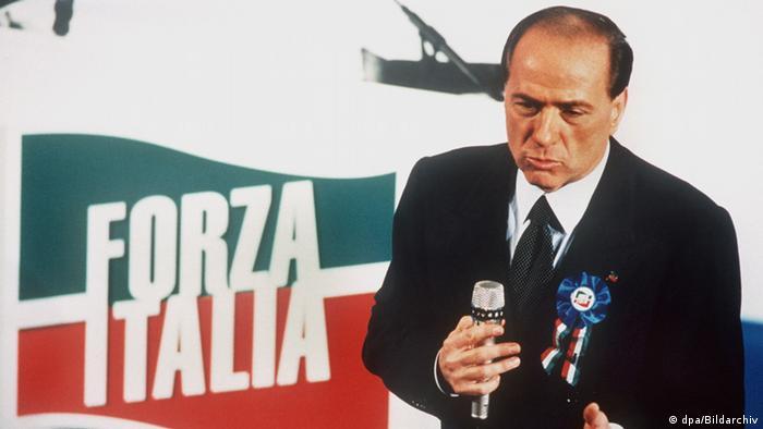 Galerie Berlusconis laufende Prozesse 1994