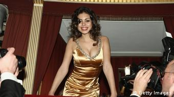 Karima El Mahroug attends the traditional Vienna Opera Ball on March 3, 2011