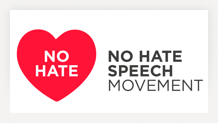 Logo No Hate Speech Movement