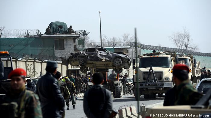 Viele Tote bei Selbstmordanschlag in Kabul (MASSOUD HOSSAINI/AFP/Getty Images)
