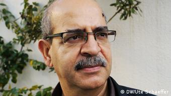 Portrait von Salaheedin al-Jurshi Foto: Ute Schaeffer (DW)