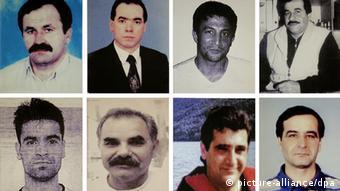 Ocho de las víctimas de NSU.