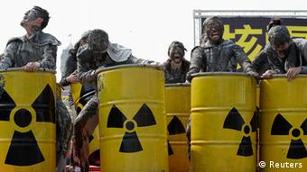 Anti-Atomkraft-Demonstration Taiwan
