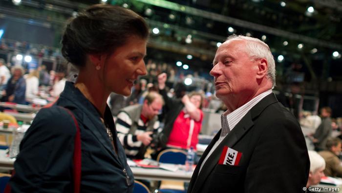 Sahra Wagenknecht, Oskar Lafontaine