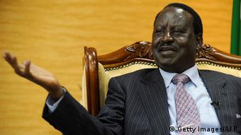 Opposition leader Raila Odinga. Photo: AFP SIMON MAINA
