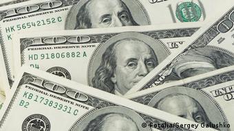 A lot of US dollar bills