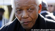 Nelson Mandela ARCHIVBILD