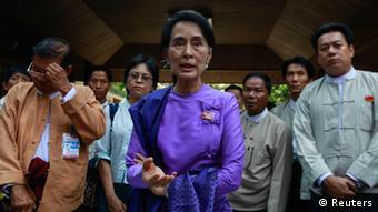 Suu Kyi als Parteichefin in Birma bestätigt