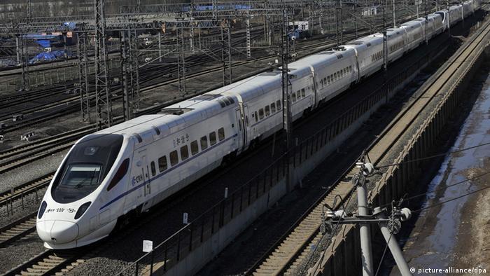 China Ma Kai gibt Auflösung des Eisenbahnministeriums bekannt (picture-alliance/dpa)
